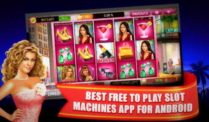List of free casino slot machine apps for iOS, Android and Windows devices